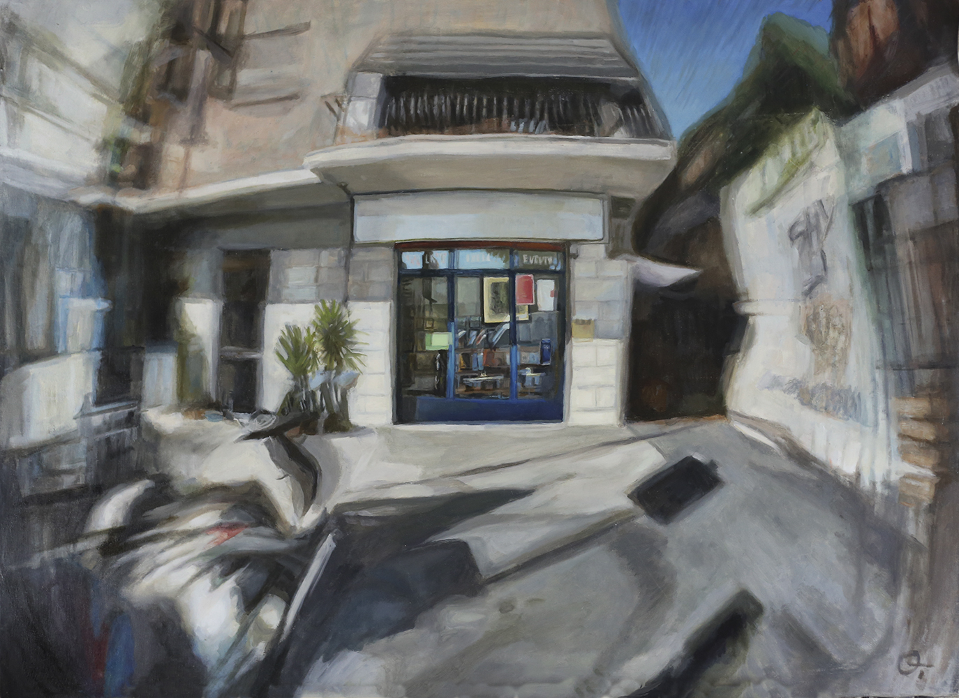 Painting_ Gallery in Rome_3D effect